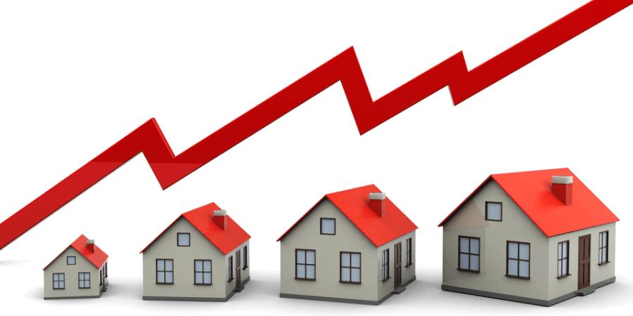 vastgoed aan de kust dat stijgt in waarde is goed voor financieel afhankelijk worden
