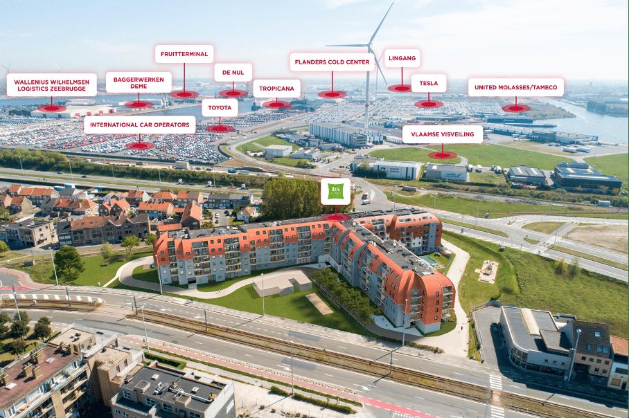 Bedrijven in Zeebrugge